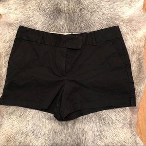 Loft Riviera Shorts size 12 black NWOT